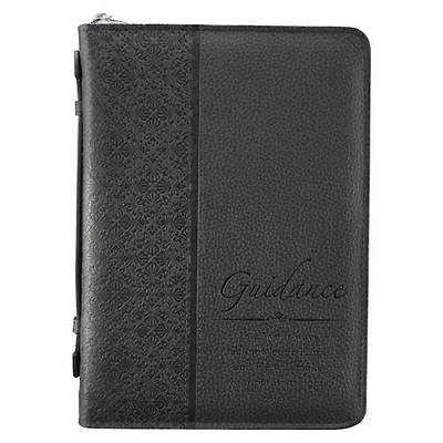 Picture of Black Luxleather Guidance Bible Cover