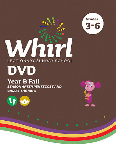 Picture of Whirl Lectionary Grades 3-6 DVD Year B Fall