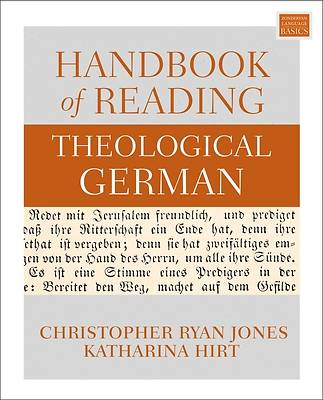 Picture of Handbook of Reading Theological German