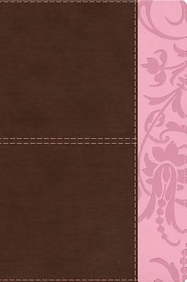 The Study Bible for Women, Brown/Pink Leathertouch