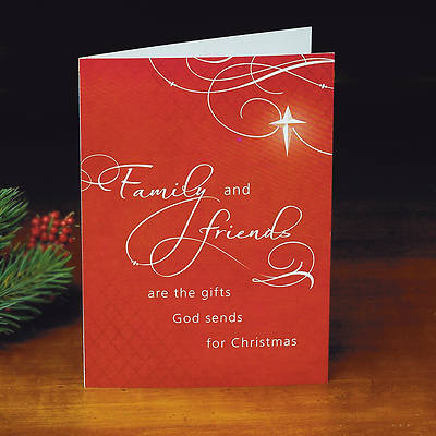 Family and Friends Christmas Boxed Card - Box of 25