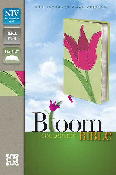 NIV Thinline Bloom Collection Bible, Compact