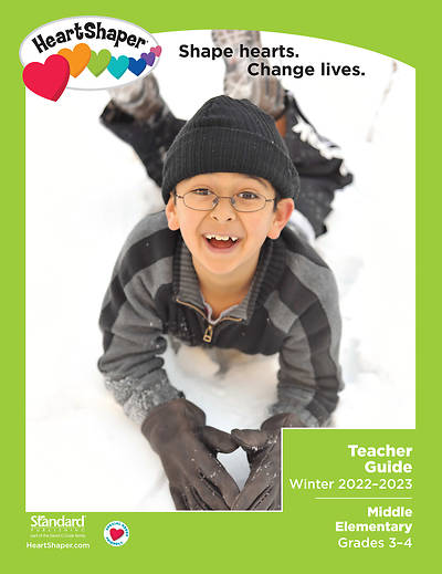 Picture of HeartShaper Middle Elementary Teacher Book Winter