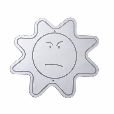 Picture of Angry Face Mirror