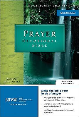 New International Version Prayer Devotional Bible