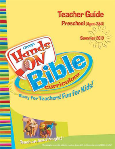 Picture of Group's Hands-On Bible Curriculum Preschool Teacher Guide Summer 2010