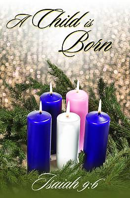 Picture of A Child Is Born Bulletin (Pkg 100) Advent