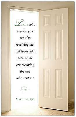Open Door Scripture Series Bulletin, Regular (Package of 50)