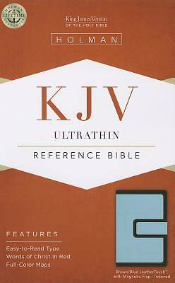 Ultrathin Reference Bible-KJV-Magnetic Flap