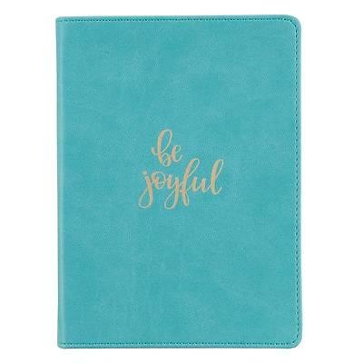 Picture of Journal Handy Luxleather Be Joyful