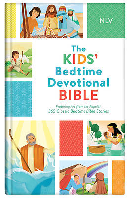 Picture of The Kids' Bedtime Devotional Bible