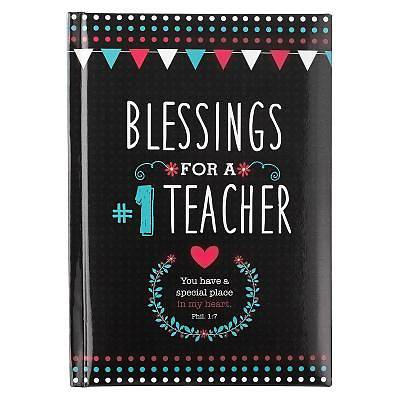 Book Hardcover Blessings for a #1 Teacher