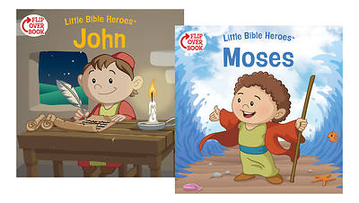 Moses/John Flip-Over Book