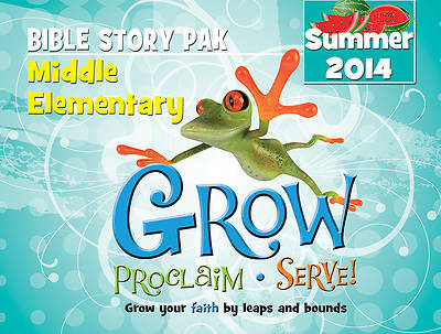 Picture of Grow, Proclaim, Serve! Middle Elementary Bible Story Pak Summer 2014