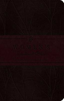 Picture of ESV Women's Devotional Bible (Trutone, Burgundy, Birch Design)