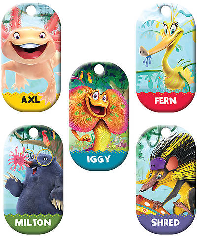 Group VBS 2014 Weird Animals Bible Memory Buddies Set of 5