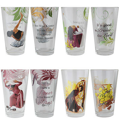 Praise Dancers Glasses (Set of 4)
