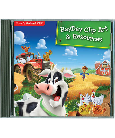 Group VBS 2013 Weekend HayDay Clip Art & Resources CD