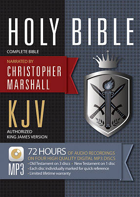 KJV Complete Bible on MP3 CD