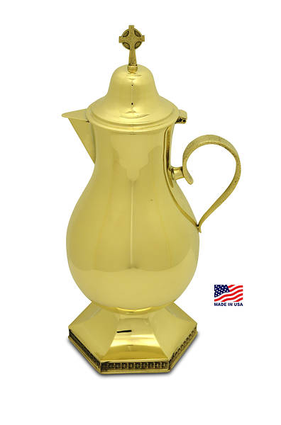 CREATORS  STAR GOLD PLATED FLAGON
