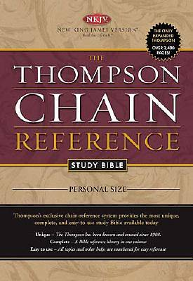 Picture of Thompson Chain Reference Study Bible-NKJV-Personal Size
