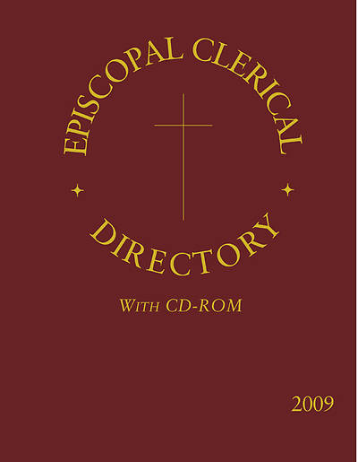 Episcopal Clerical Directory 2009 Book and CD ROM