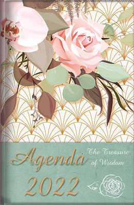 Picture of The Treasure of Wisdom - 2022 Daily Agenda - Pink Roses