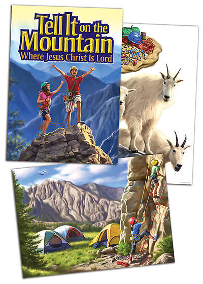 Concordia Vacation Bible School 2013 Tell It On The Mountain Decorating Posters (pkg of 3)