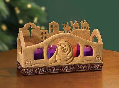 Bethlehem Advent Candleholder