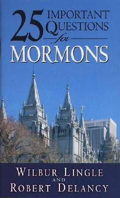 Picture of 25 Important Questions for Mormons