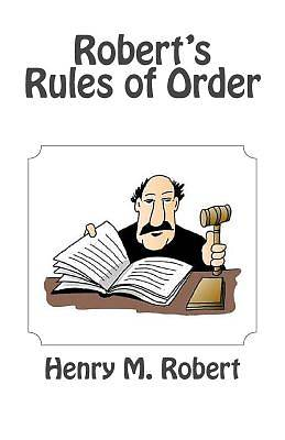Picture of Robert's Rules of Order