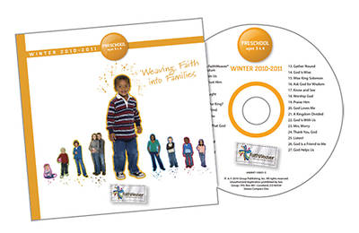 Picture of FaithWeaver Preschool CD
