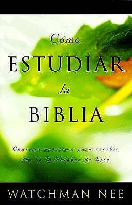 Como Estudiar la Biblia / How to Study the Bible