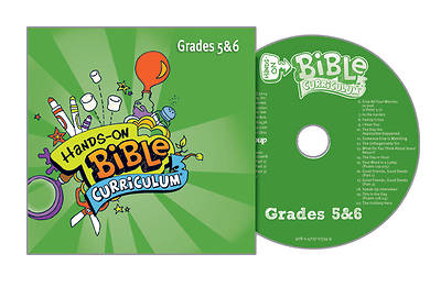 Picture of Hands-On Bible Curriculum Grades 5&6 CD Winter 2016-17