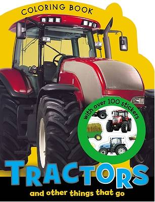 Picture of Tractors and Other Things That Go Coloring Book