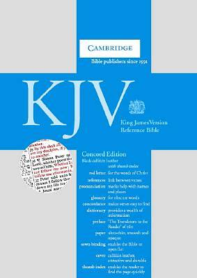 Concord Reference Bible-KJV