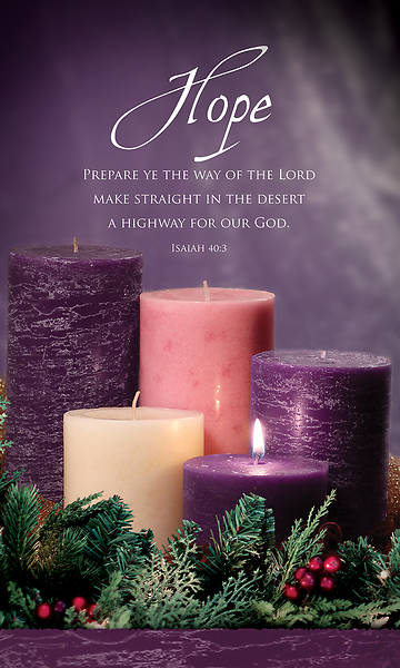 Picture of Advent Week 1 3' x 5' Vinyl Banner Isaiah 40:3