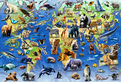 Picture of Endangered Species Jigsaw Puzzle