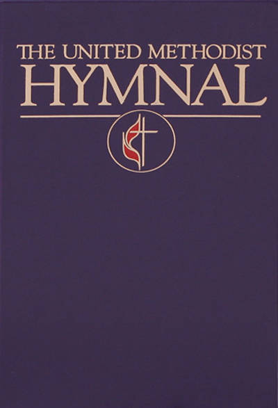 Picture of The United Methodist Hymnal Purple Pew Edition