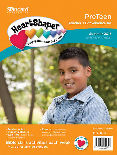 Standards HeartShaper PreTeen Teacher Kit Summer 2013