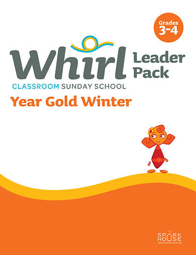 Picture of Whirl Classroom Grades 3-4 Leader Guide Year Gold Winter