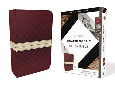 NKJV, Unapologetic Study Bible, Imitation Leather, Red/Tan, Red Letter Edition