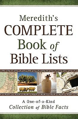 Merediths Complete Book of Bible Lists