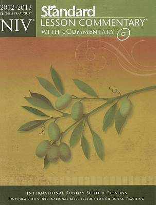 Standard Lesson Commentary NIV with Ecommentary 2012-2013