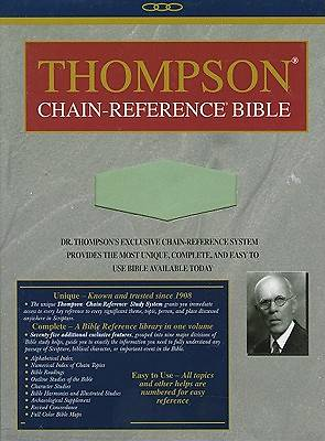 Picture of Thompson Chain Reference Bible-KJV-Handy Size