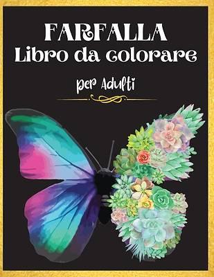 Picture of Farfalla Libro da Colorare per Adulti