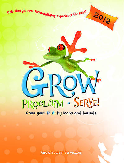 Grow Proclaim Serve Catalog 2012