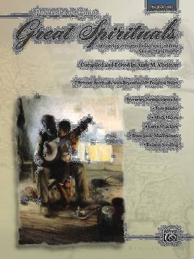Great Spirituals; An Anthology or Program for Solo Voice and Piano for Concert and Worship (Medium Low Voice) With CD (Audio)