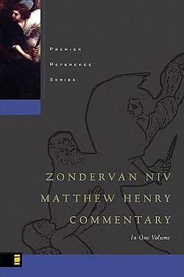The NIV Matthew Henry Commentary