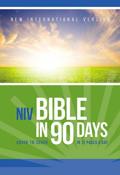 Picture of The NIV Bible in 90 Days